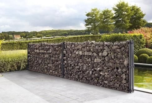 Gabions for arrangement og landskapsdesign